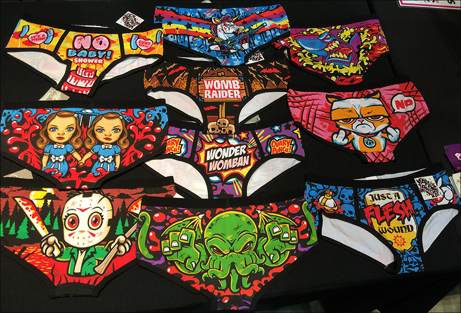 Wizard World New Orleans - recap - Harebrained! - Period Panties