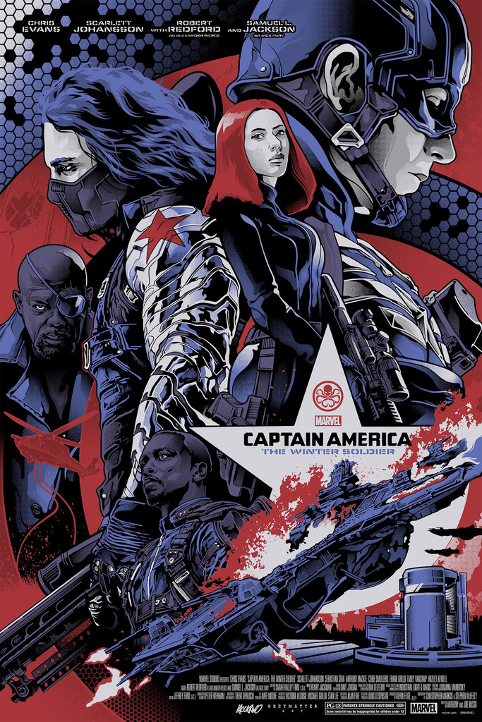 Captain America - Winter Soldier - Alexander Iaccarino - Regular