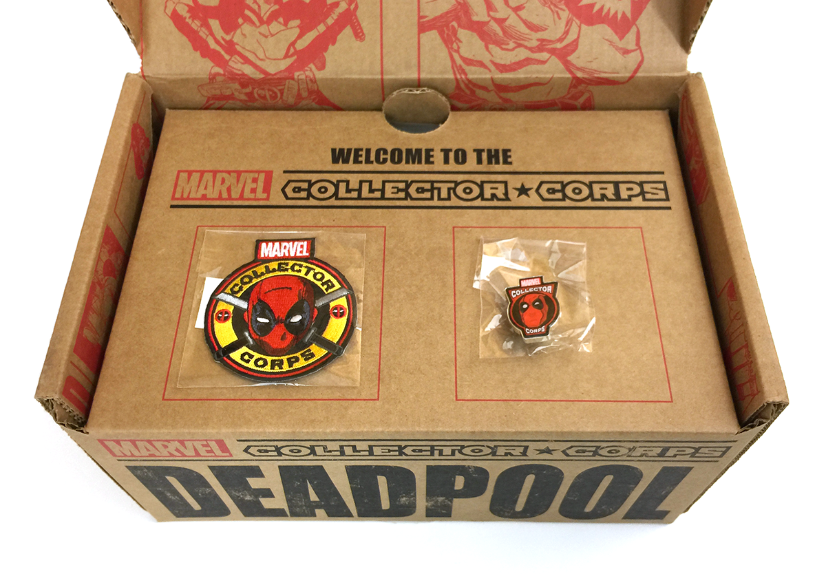 Marvel Collector Corps - Deadpool - Level 1