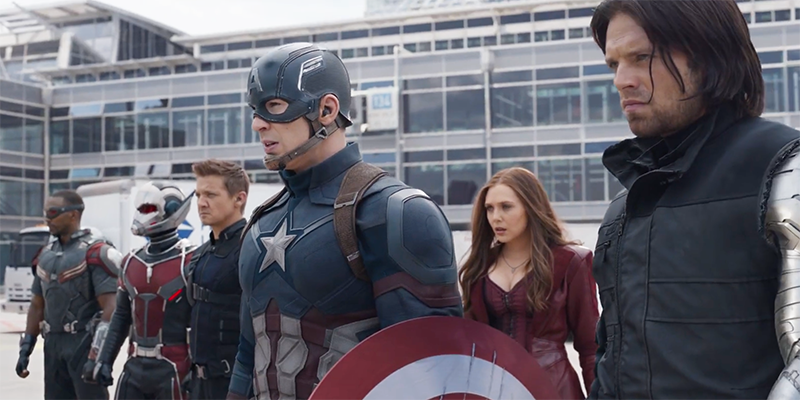 Captain America: Civil War - #TeamCap