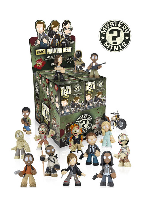 The Walking Dead - Mystery Minis - Funko - Series 4 - Box