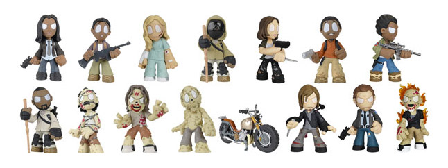 The Walking Dead - Mystery Minis - Funko - Series 4 - Figures