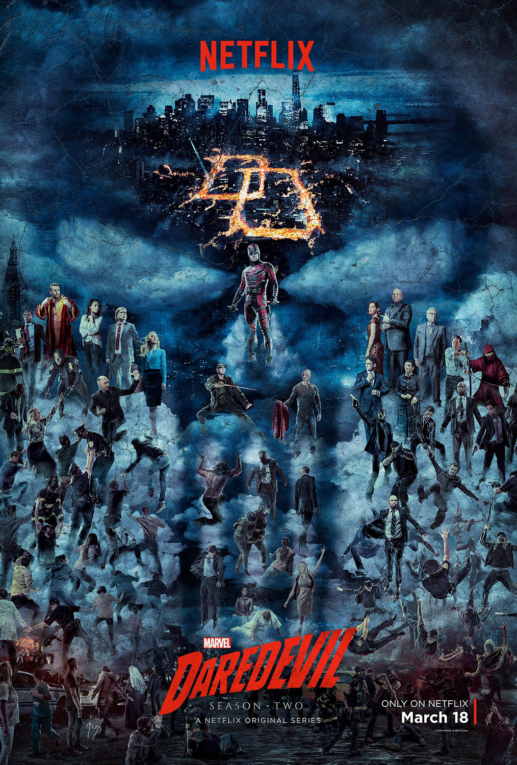 Daredevil - Season 2 - Poster