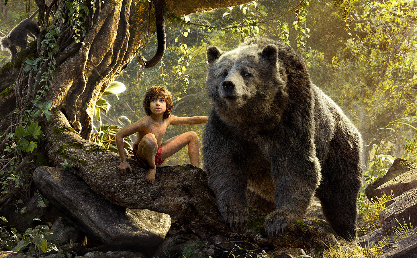 The Jungle Book - Mowgli and Baloo