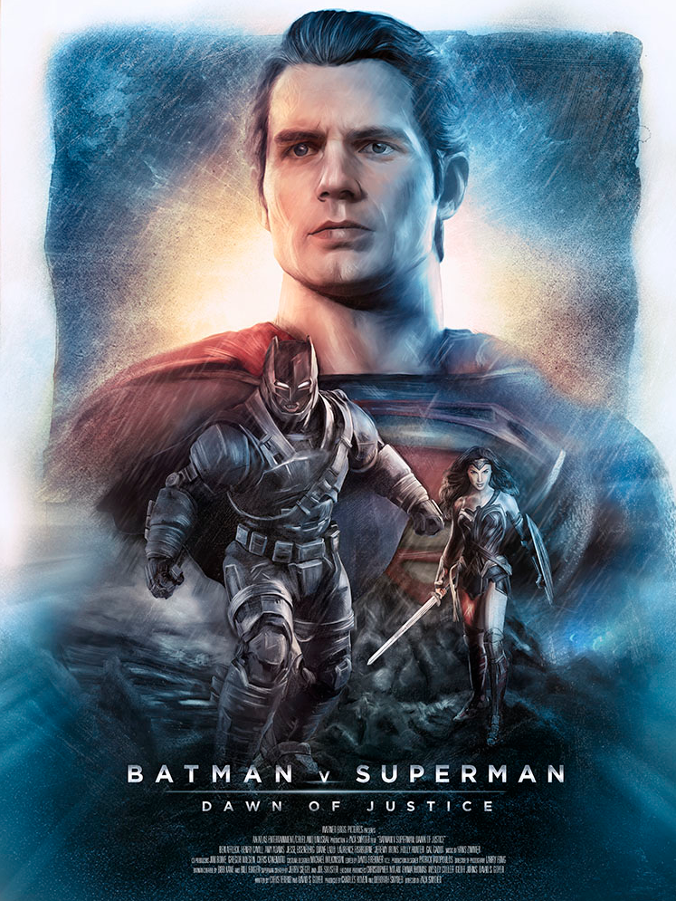 Batman v Superman: Dawn of Justice - Poster Posse - artist: Rich Davies
