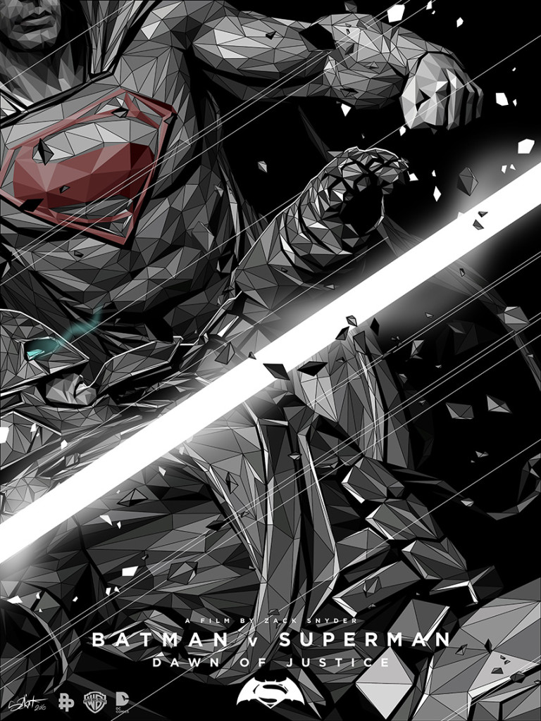 Batman v Superman: Dawn of Justice - Poster Posse - artist: Simon Delart