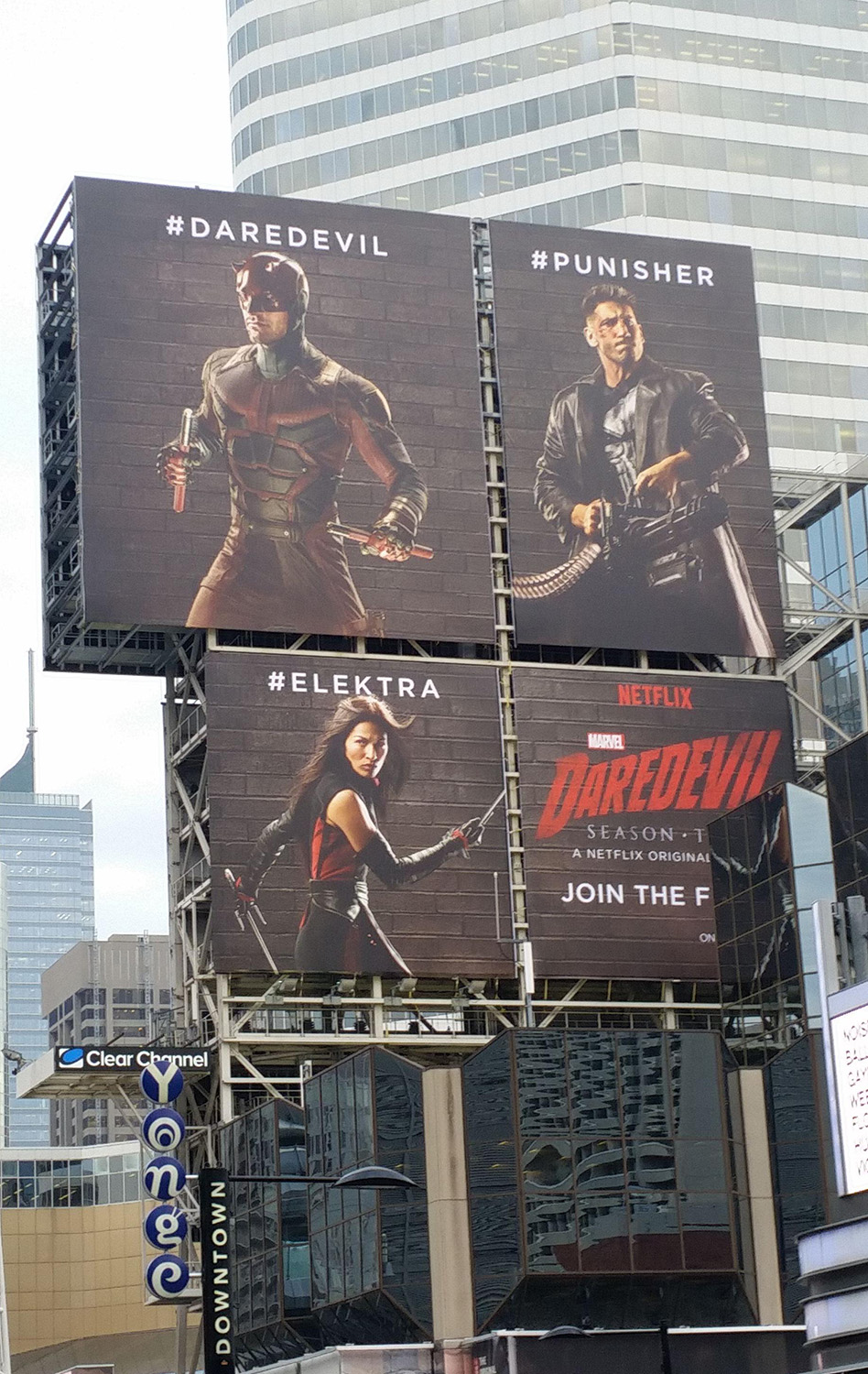 Daredevil Season 2 Billboard
