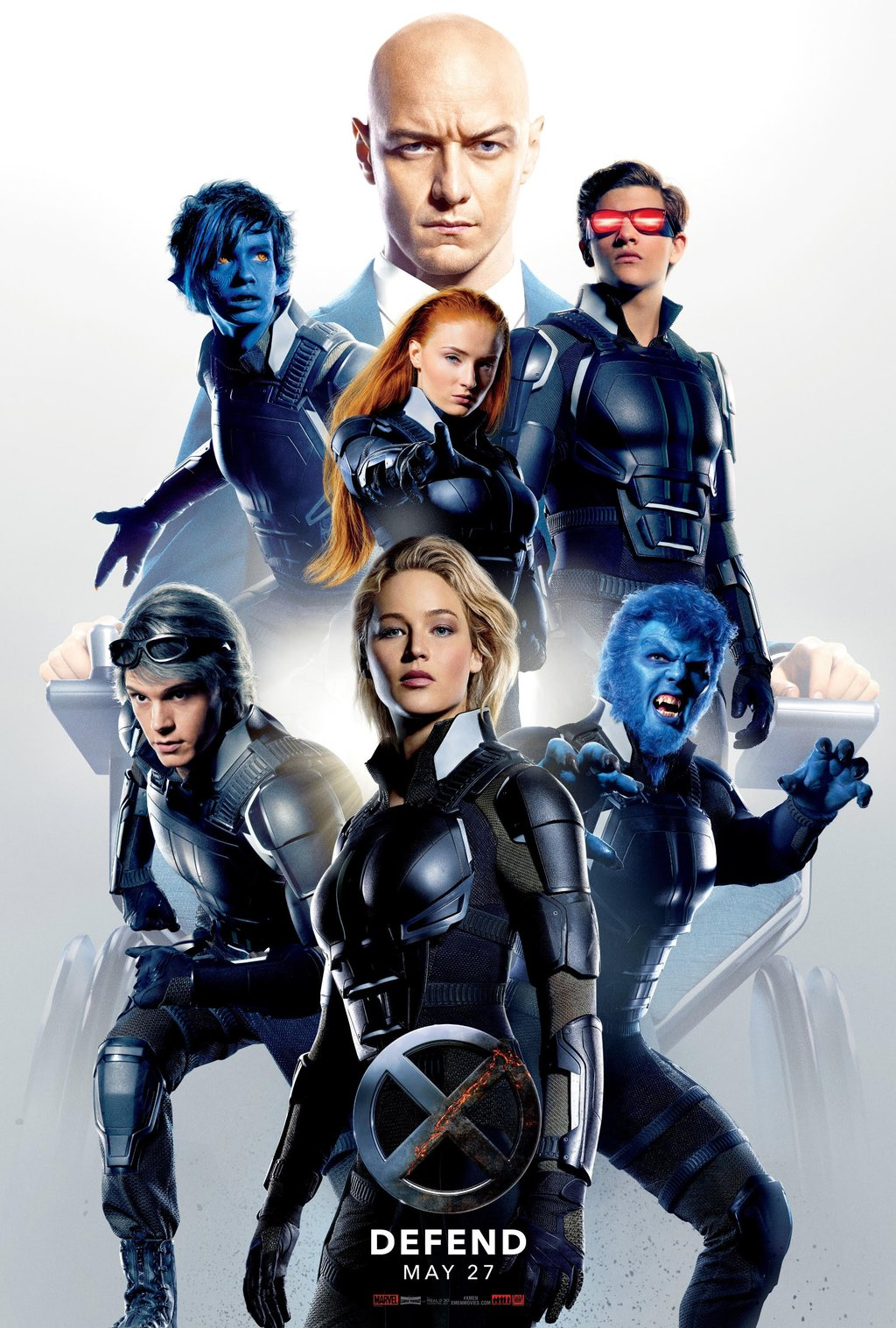 Defend - X-Men: Apocalypse - Poster