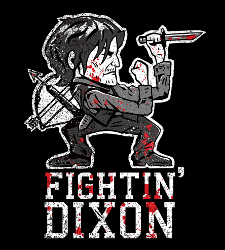 Fighting Dixon from Tee NO Evil