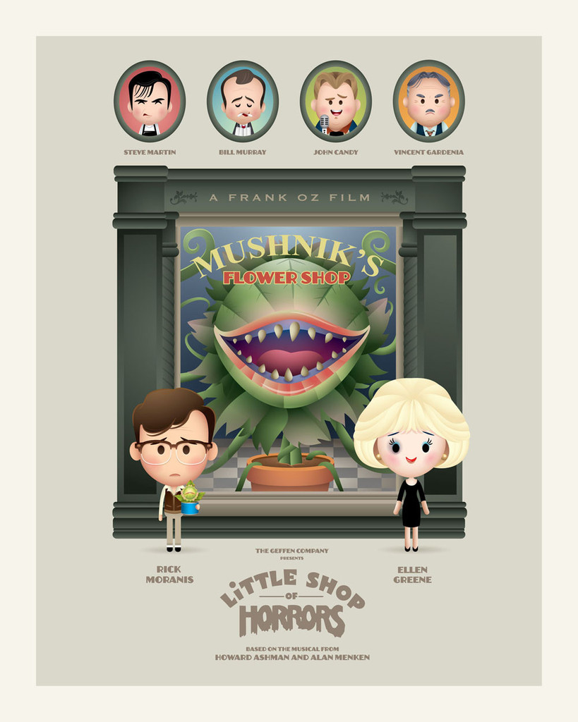 Little Shop - Jerrod Maruyama - 30 Years Later - LE 10
