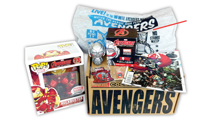 Marvel Collector Corps - Box 1 - Avengers - Age of Ultron