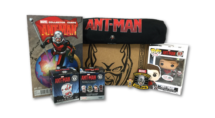 Marvel Collector Corps - Box 2 - Ant-Man