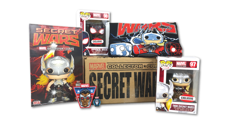 Marvel Collector Corps - Box 3 - Secret Wars