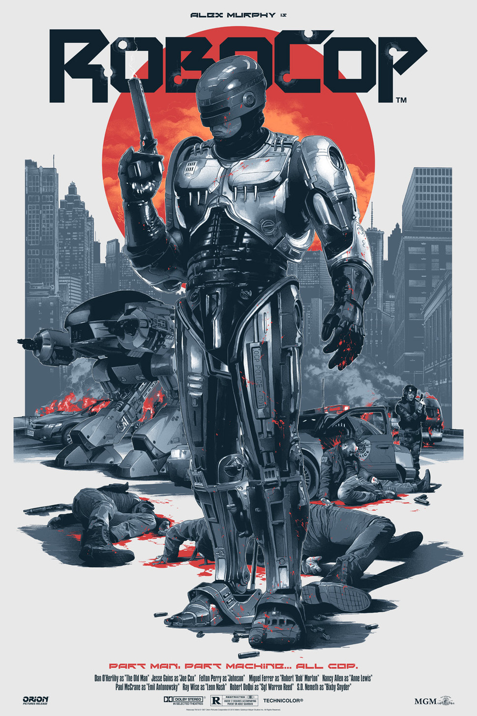 Robocop - Gabz - Grey Matter Art - Regular - LE225