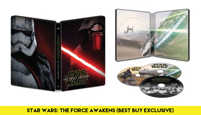 'Star Wars: The Force Awakens' - Blu-Ray/DVD/Digital Combo (Best Buy Exclusive)