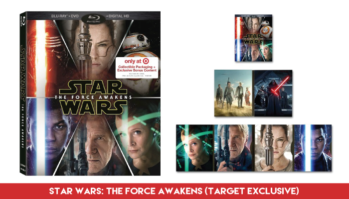 'Star Wars: The Force Awakens' - Blu-Ray/DVD/Digital Combo (Target Exclusive)