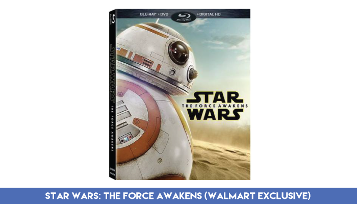 'Star Wars: The Force Awakens' - Blu-Ray/DVD/Digital Combo (Walmart Exclusive)
