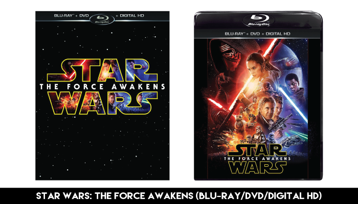 'Star Wars: The Force Awakens' - Blu-Ray/DVD/Digital Combo