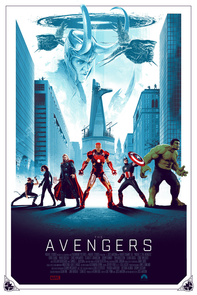 'The Avengers' - Matt Ferguson - Grey Matter Art - Regular Edition - LE 175