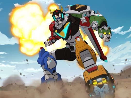 Voltron - Legendary Defender - First Image