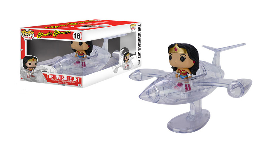 Wonder Woman - Invisible Jet - Funko - Pop! Rides