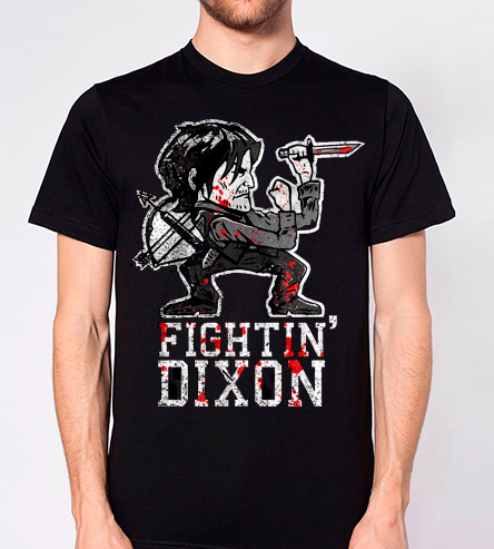 Fighting Dixon - Black Shirt