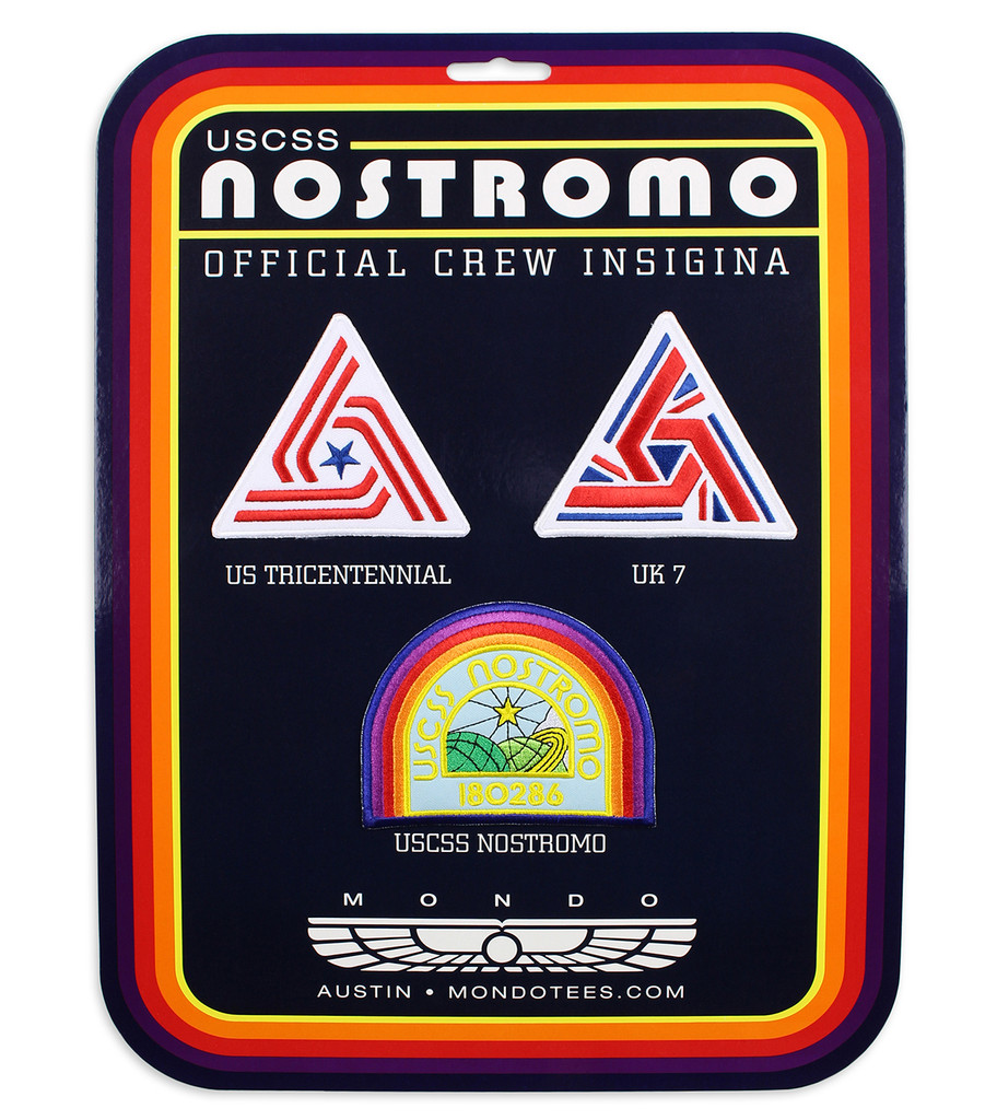USCSS Nostromo Crew Patch Set