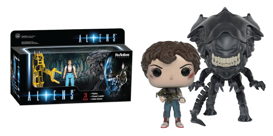 New Aliens Figures From Funko Reaction And Pop Vinyl