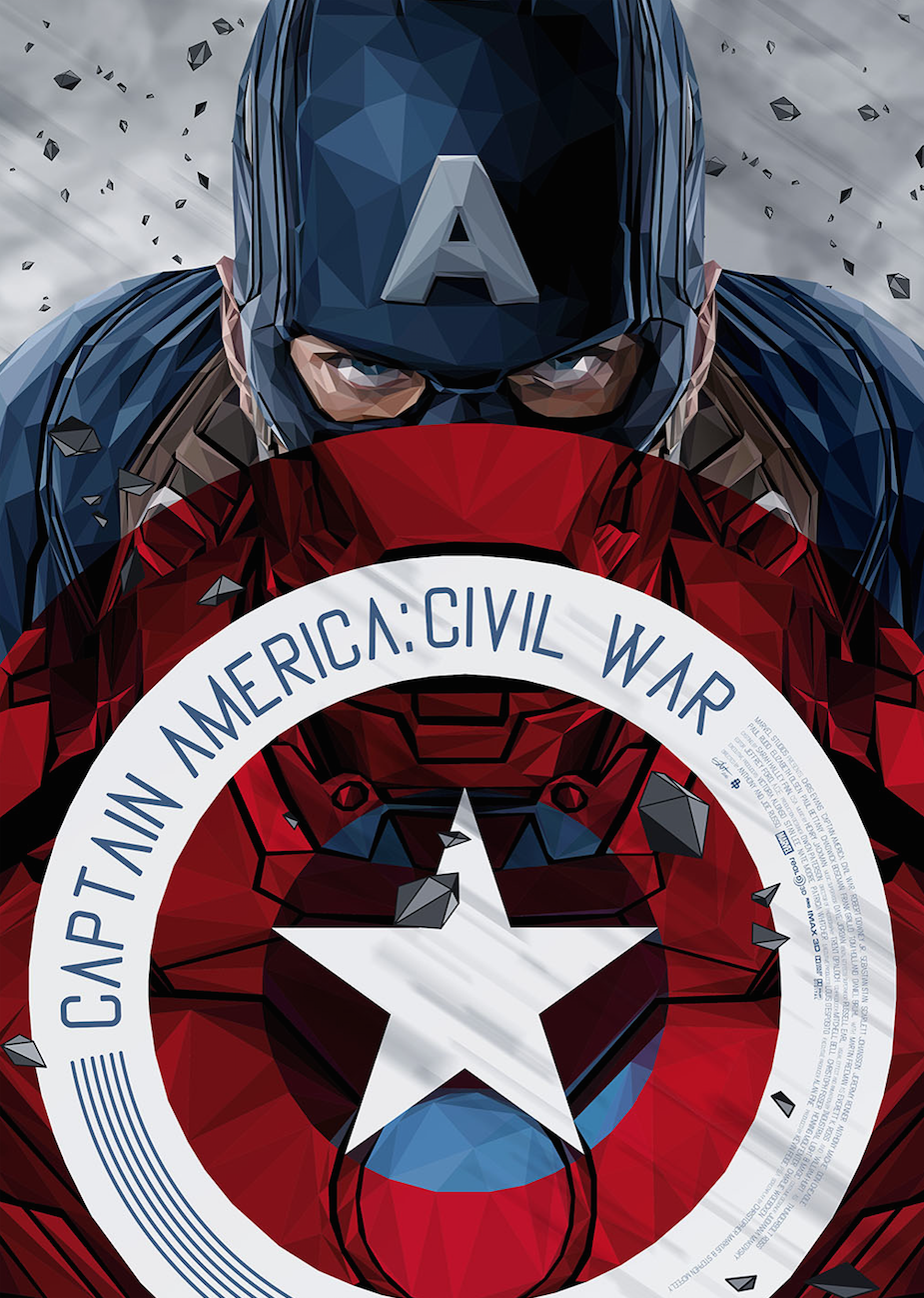 Captain America - Civil War - Simon Delart