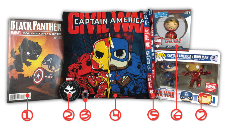 MCC - Captain America: Civil War - Contents - Numbers