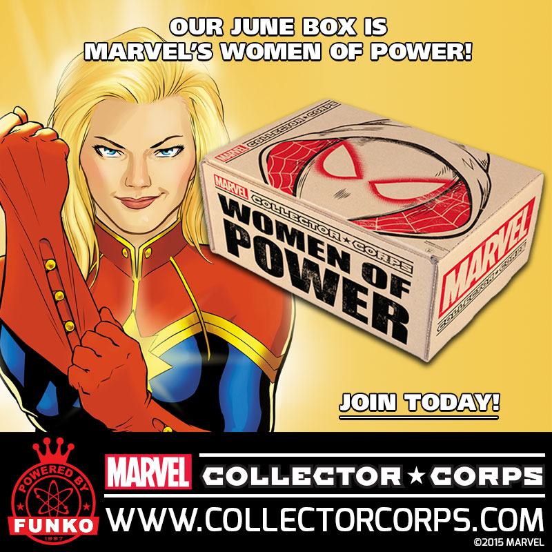 Marvel Collector Corps - June - Teaser Image - Women of Power - Square