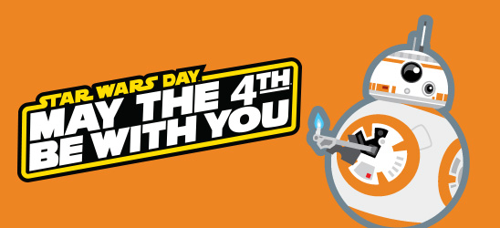May the 4th Be With You - Banner