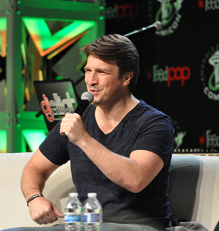 NathanFillion ECCC 2016 10 The greatest Hotties when it comes to eager Relationships