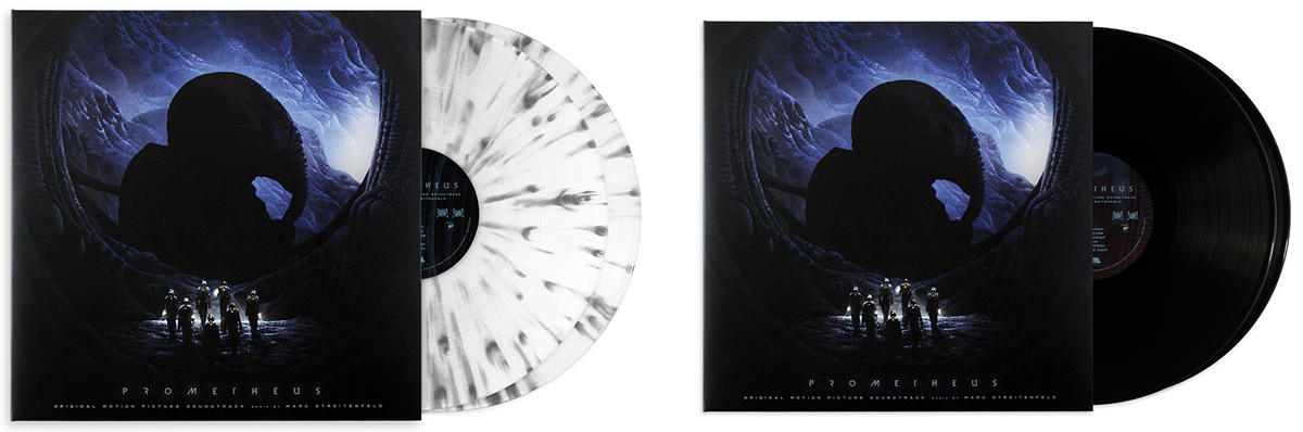 Prometheus - Original Motion Picture Soundtrack 2XLP. Music by Marc Streitenfeld. Artwork by Kilian Eng.