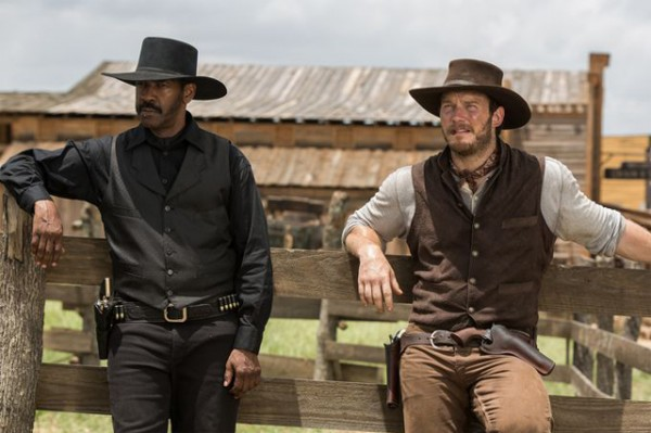 The Magnificent Seven - Denzel Washington - Chris Pratt