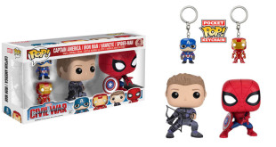 Captain America: Civil War - Four Pack - Funko Pop! - Pocket Pop!