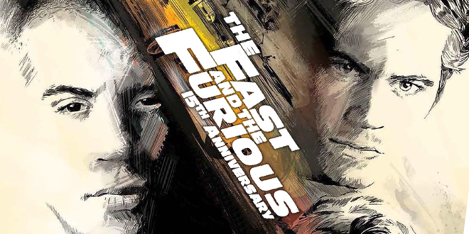 The Fast and the Furious 15th Anniversary - Cover