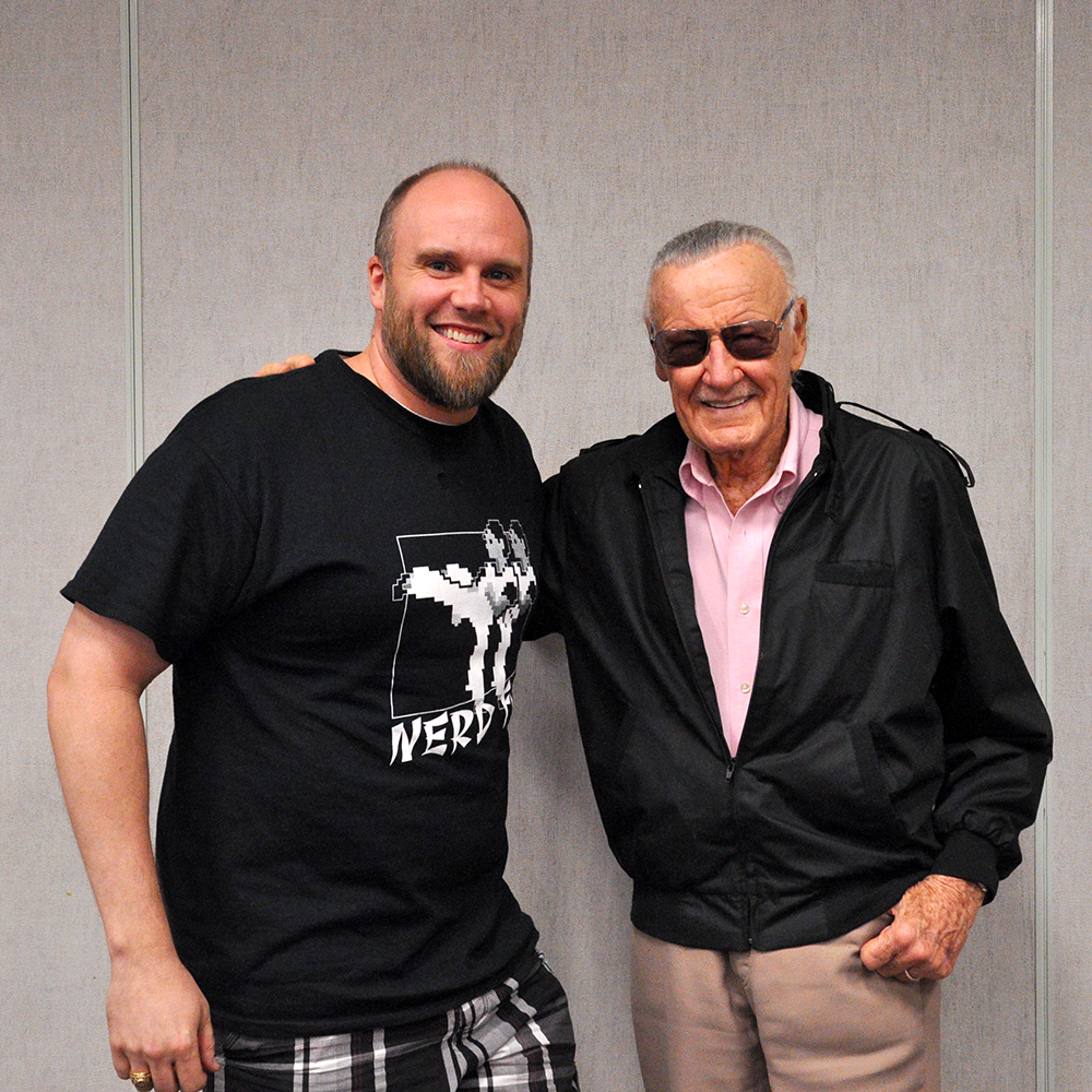 Stan Lee and Sully - DCC 2014 - Special Event