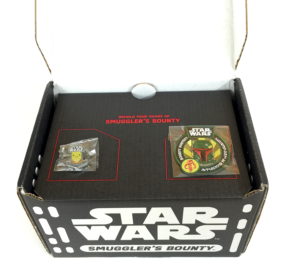 Star Wars - Smuggler's Bounty - Bounty Hunters - Inside Lid