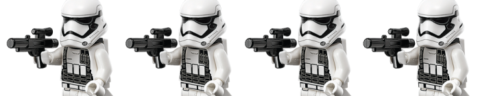 Star Wars Day - 2016 - LEGO - First Order Stormtrooper