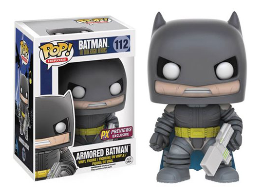 Batman - The Dark Knight Returns - Armored Batman PX - Exclusive