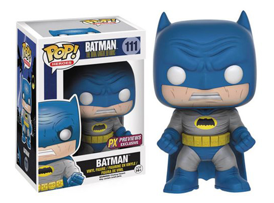 Batman - The Dark Knight Returns - Batman (Blue) PX - Exclusive
