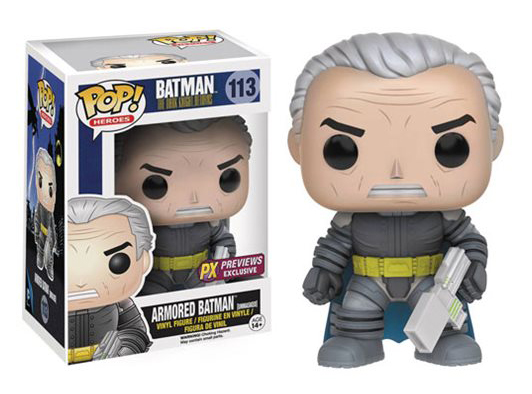 Batman - The Dark Knight Returns - Unmasked Armored Batman PX - Exclusive