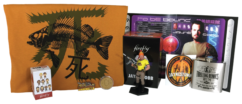 Firefly Crate - May 2016 - Jayne - Contents