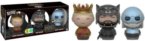 Funko - SDCC 2016 - Exclusive - Dorbz - Game of Thrones 3-Pack - White Walker, Hound & Joffrey
