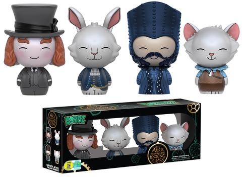Funko - SDCC 2016 - Exclusive - Dorbz - Alice Through the Looking Glass 4-Pack