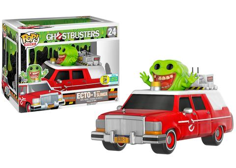 Funko - SDCC 2016 - Exclusive - Funko Pop! Ridea - Ecto-1 Slimer