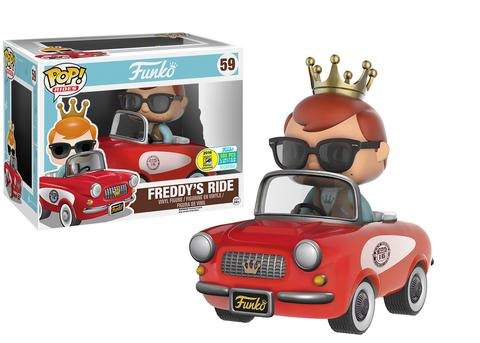 Funko - SDCC 2016 - Exclusive - Funko - Pop! Rides - Freddy's Ride
