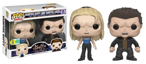 Funko - SDCC 2016 - Toy Tokyo Exclusive - Funko Pop! - BTVS Vampire Buffy and Vampire Angel