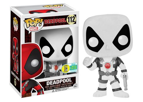 Funko - SDCC 2016 - Exclusive - Funko Pop! - Deadpool - Black and White